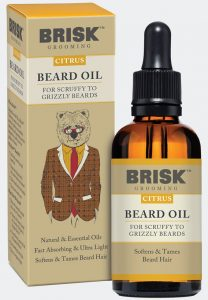 Brisk Grooming - Citrus Beard Oil