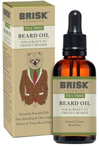 Brisk Grooming - Tea Tree Beard Oil